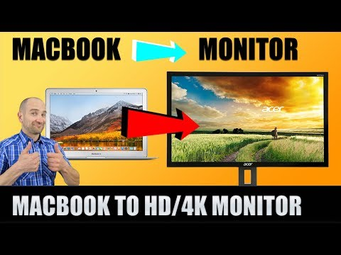 How to hook my mac air to tv