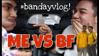 #BANDAYVLOG6 ► CHALLENGE WITH MY BF !