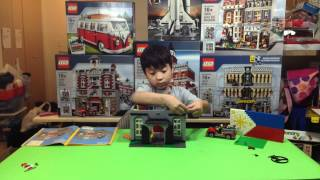 Lego 10197 | Fire Brigade | Time Lapse