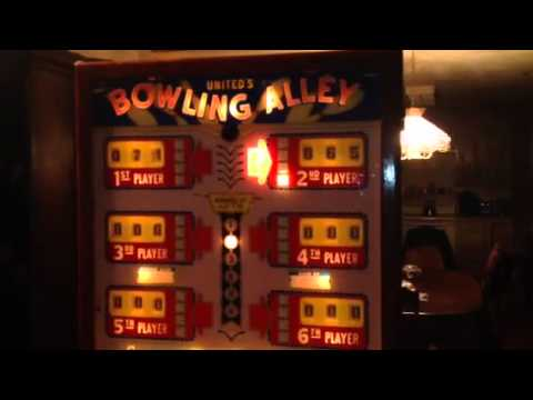 1956 United Bowling Alley ball bowler part 1