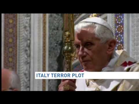 Italy terror plot