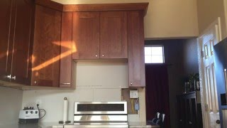 What's the ideal clearance between your OTR microwave & stovetop? Lowe's kitchen remodel.