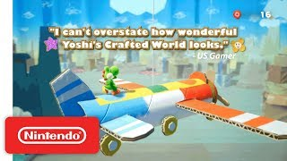 Yoshi's Crafted World - Accolades Trailer - Nintendo Switch