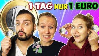 1 TAG mit 1 EURO ÜBERLEBEN Challenge Kathi, Kaan & Nina dürfen nur 1€ ausgeben! Wer hält durch?