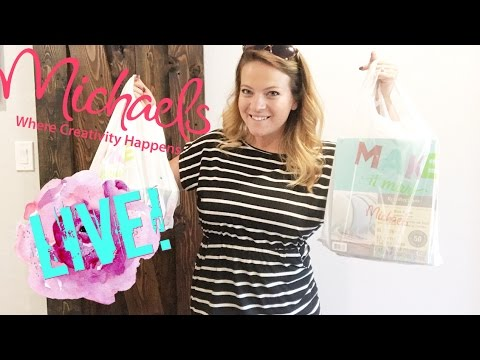 Michaels haul! Craft with me! Diy Bookmarks!