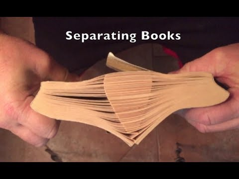 Separating Books Experiment