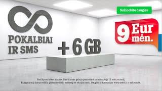 TELE2 neriboti pokalbiai ir SMS + 6 GB su 40 % nuolaida!(, 2016-02-02T09:06:15.000Z)