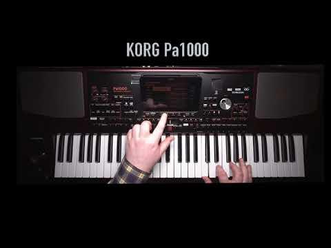 Korg Pa1000 Impro Demo - LIVE