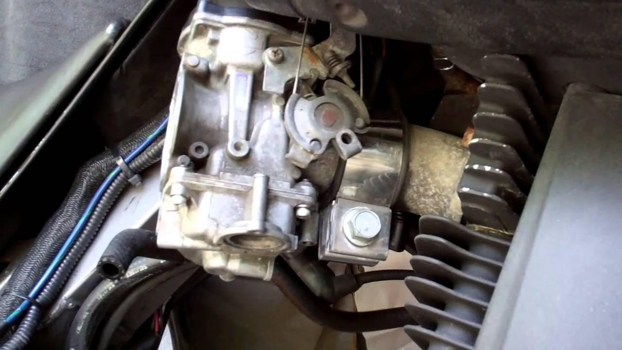 Buell Blast Carburetor Tossing - YouTube