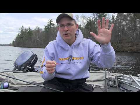 Spring crappie fishing with the Ratso from Custom Jigs and Spins