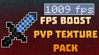 minecraft pvp texture pack 1x1 fps boost edit   super high fps   no lag   1000 fps   lag fix