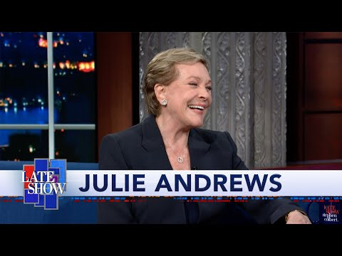 Julie Andrews reveals therapy 'saved my life' after 1st marriage ended