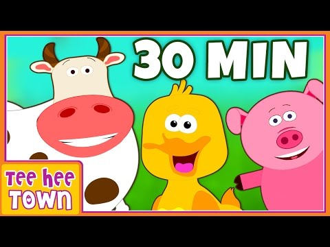 Old MacDonald had a Farm | Nursery Rhymes Collection for Children by Teehee Town