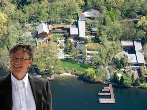 Biệt thự hơn 2700 tỷ của Bill Gates : siêu sang, siêu hiện đại