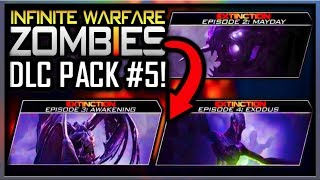 Infinite Warfare ZOMBIES DLC 5 CONFIRMED! (NOT CLICKBAIT) EXTINCTION REMASTERED? (IW ZOMBIES DLC 4)
