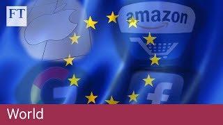 EU unveils digital tax on tech giants