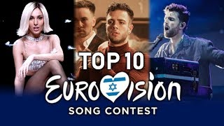 Eurovision 2019 | Top 10 Songs