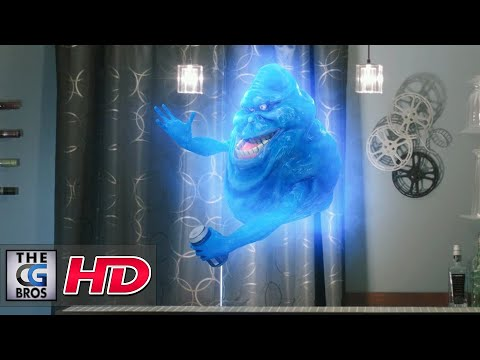 "CGI & VFX Short Film ""Shaky Ghost""  - by David Gechman"
