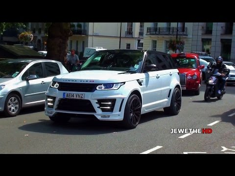 2x(!) Range Rover LUMMA CLR RS On The Streets Of London!