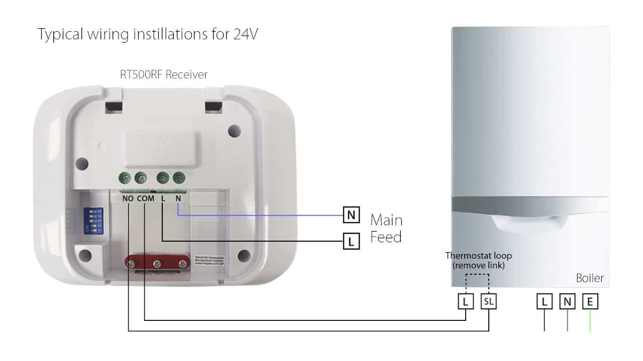 small resolution of salus rt500 thermostat product help video youtube rh youtube com drayton wireless thermostat wiring diagram drayton