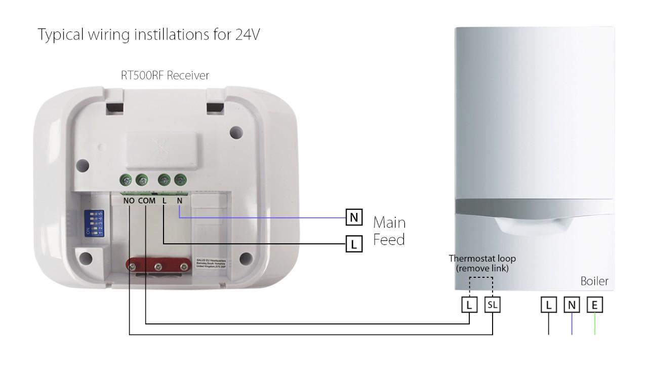 hight resolution of salus rt500 thermostat product help video youtube rh youtube com drayton wireless thermostat wiring diagram drayton