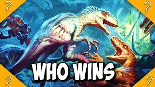 Lost World VS Jurassic Park 3 Raptors