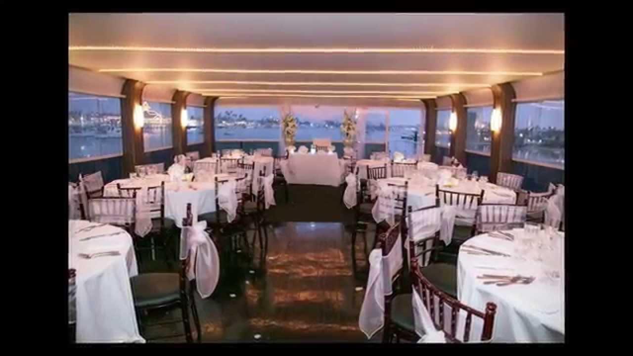 Wedding aboard Just Dreamin Hornblower Cruises  YouTube