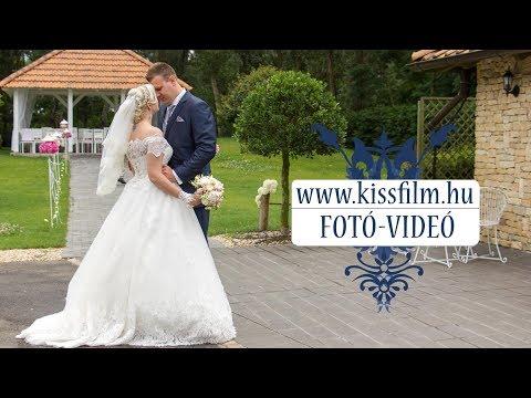 Henrietta és Gábor esküvője  Nyírtasson a Magyar Talléros Rendezvényházban