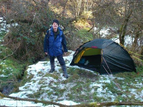 Winter Woodland Wild Camp