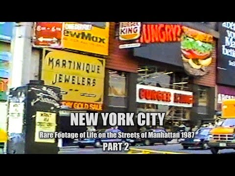 Times Square - New York City Tour, 1987 - Part 2