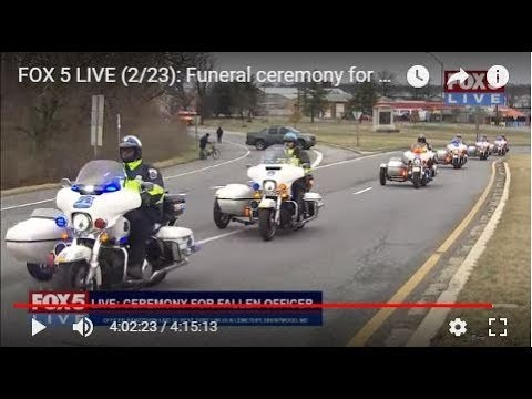 FOX 5 LIVE: Funeral ceremony for fallen officer; Trump w/ P.M. Australia; Fla. Gov. on school safety
