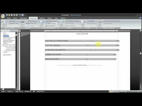 Managing a Thesis using Word 2010 - Part 10 - Combining Documents
