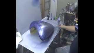 Atelier Meijer - Suzuki Marauder 800 airbrush part 2