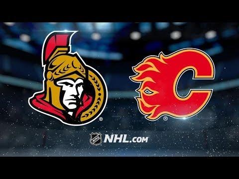 Ottawa Senators Vs. Calgary Flames | NHL Game Recap | October 13, 2017 | HD