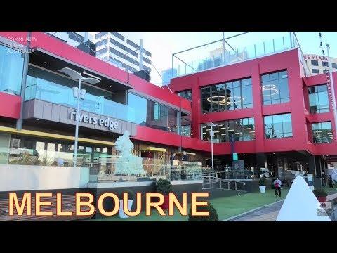 MELBOURNE CITY TOUR SOUTH WHARF YARRA RIVER MELBOURNE AUSTRALIA