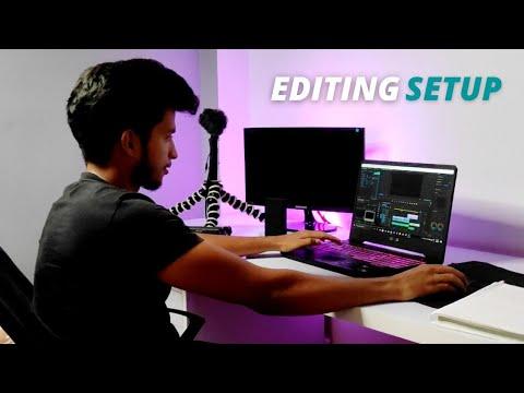 Youtube Studio/Room Tour of Engineering Student 🔥