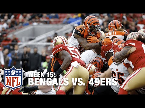 Jeremy Hill Dives in for the 1-yard TD | Bengals vs. 49ers | NFL