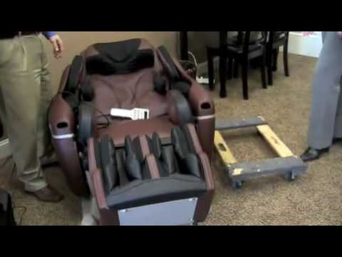 Inada Sogno Massage Chair Moving The Chair Youtube