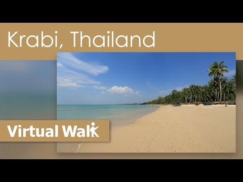 Virtual Walk Beaches Of Thailand – Walk On Phuket And Krabi Beach