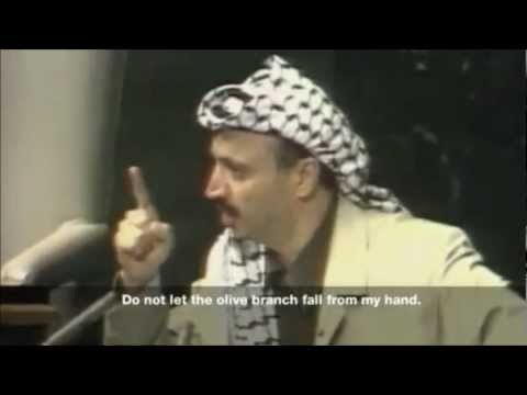Yasser Arafat's Speech at the UN General Assembly Olive Branch Speech