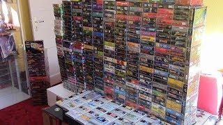 Meine Super Nintendo SNES Spiele Sammlung - Deutsch [August 2017] [ 373 Spiele ]