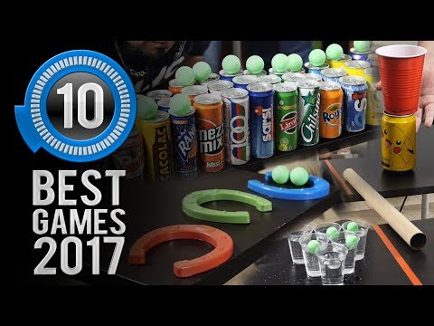 Minute to Win It Gamers: The 10 Best Games of 2017