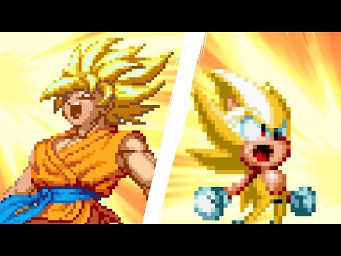 Goku VS Sonic II (The Rematch)
