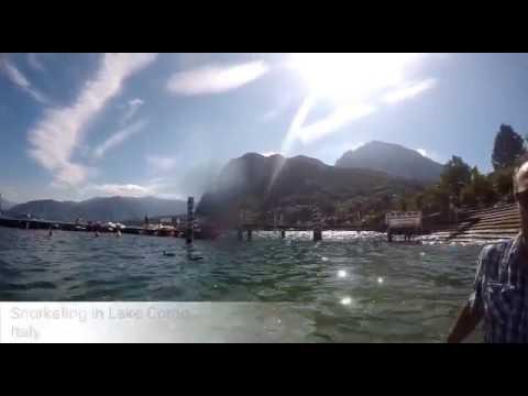 Snorkeling In Lake Como, Italy