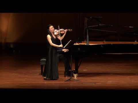 CSUF Faculty & Guest Artist Recital - Strauss Violin Sonata Op.18 - Qian Zhou and Ning An