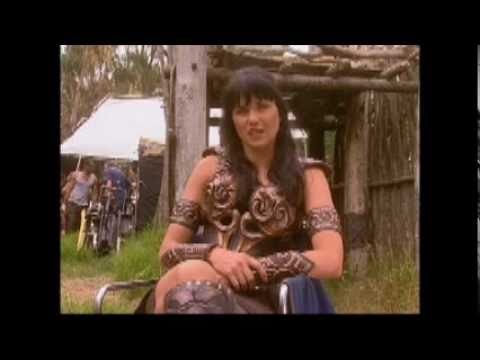 Lucy Lawless Xena and Zoe Bell Bonus s from Double Dare Part 22