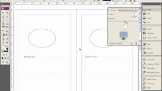 Палитра Pages и мастер страницы в Adobe InDesign
