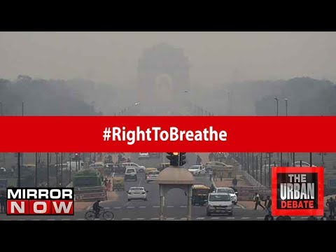 Is the government doing enough to control #Delhi's air pollution? | The Urban Debate