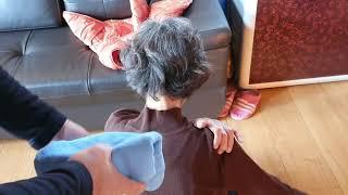 회전근계통증, 어깨통증, 뒷목통증 동시에 즉시  통증이…