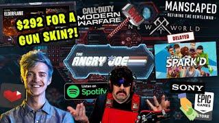 AJS News - $292 Gun Skin?, Dr. Disrespect Mystery, Ninja on YT, COD Bans, Sims TV Show, Sony + Epic!